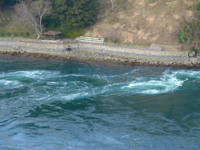 2018.3博多学会出張・長崎ドライブ6終-西海橋から針尾瀬戸の渦潮を見る 帰京