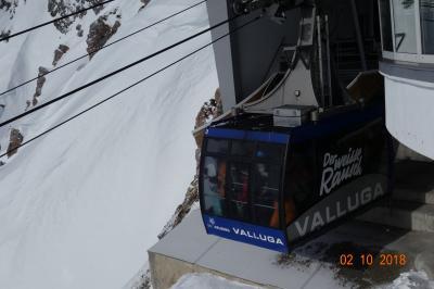 オーストリア  最大のスキー場  サン・アントン スキー場 と 街並み