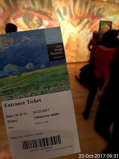 【オランダ☆アムステルダム】国王と1時間は過ごした バンゴッホ美術館・日本展