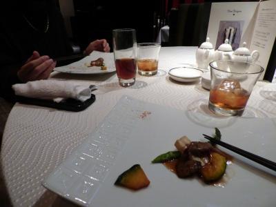 02.中国料理を楽しむ(筈だった)エクシブ箱根離宮1泊 中国料理 翠陽の昼食