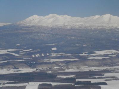 この冬3度目の湯治 ⑤ 空からの空知盆地