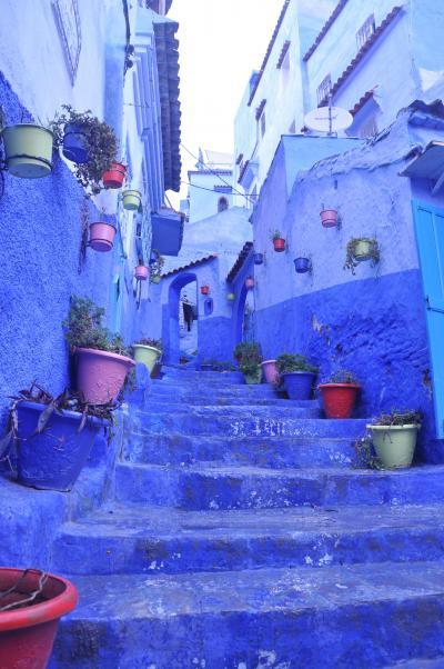 エキゾチックモロッコ < 青い町 シャウエン >