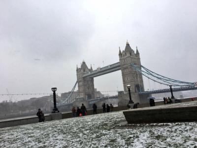 3度目のロンドンは雪だった その1