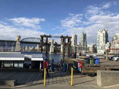 2018年3月 カナダ旅行 1日目