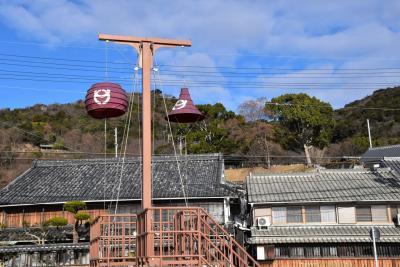 坂越の町並み散歩 ~白壁と焼板の町家、とうろん台のある町~(兵庫)