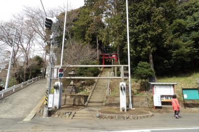 五霊神社入口