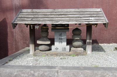 富士浅間神社と庚申塚(横浜市戸塚区汲沢3)-2018年春