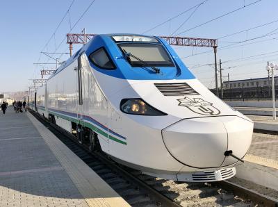 118. アシアナビジネスでいくウズベク&カザフ②高速鉄道ビジネスクラスで移動してブハラ観光前半