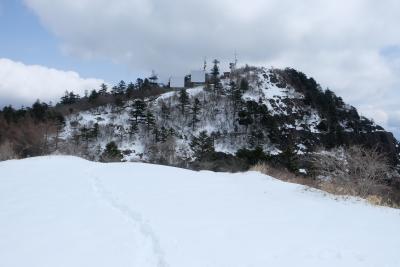 三ツ峠 今季最後の雪登山