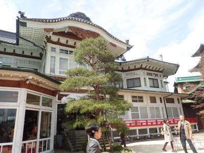 箱根2018春<2020年まで休業の富士屋ホテル(花御殿)&彫刻の森と星の王子&さようならロマンスカーLSE7000形>