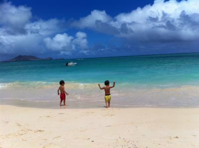 子連れハワイ 2012 カイルア、ラニカイ、ブーキモ