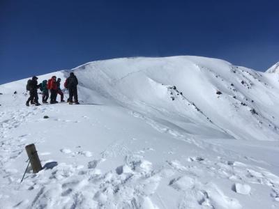 八方尾根スキーハイクの予定からゲレンデスキー。