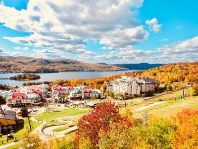秋のカナダ旅行③ローレンシャン高原で堪能するカナダの秋 メープル街道
