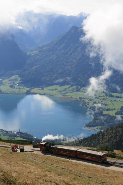 オーストリア ザルツカンマーグート シャーフベルク登山鉄道 ツヴェルファーホルンゴンドラ