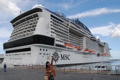 ☆ハネムーン☆MSCメラビリアで地中海クルーズの旅♪1日目★出発~バルセロナ到着