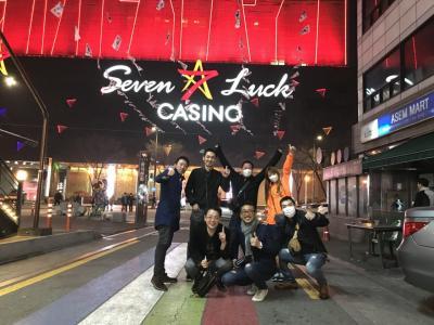 アシアナ航空 仙台発で行くソウル2泊3日 セブンラック カジノ奮闘記。