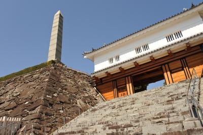 2018年3月:日本100名城の甲府城