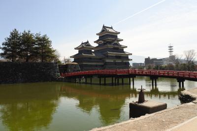 2018年3月:日本100名城の松本城