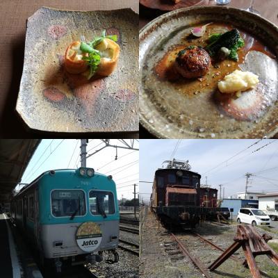 2018年春の18きっぷ3日目  岳南電車と静岡を訪問(1)岳南電車とランチコース