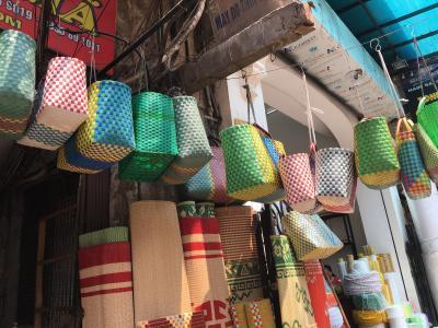 初めてのハノイ。②ハンザ市場でバッチャン焼~街をぶらり。