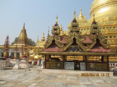アジアの原風景、ミャンマー、イラワジ河クルーズ、 パゴダ:仏塔、上座部仏教寺院と仏像編