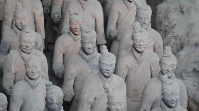 中国 「西安 兵馬俑」 旅行記