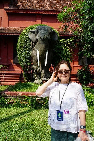 トラピックス3泊4日格安ツアーでプノンペンを遊びつくす。(6) カンボジア国立博物館で念願のジャヤヴァルマン七世像のオリジナルに出逢う。