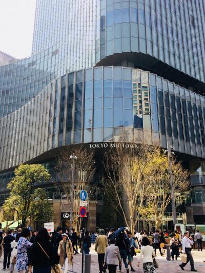 東京ミッドタウン日比谷 初日ランチタイム30分 ちらりと寄れたのは一店だけ