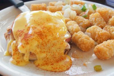 【東京-大阪-ホノルル】LCCでハワイひとり旅 9 朝食とダイヤモンドヘッドの部