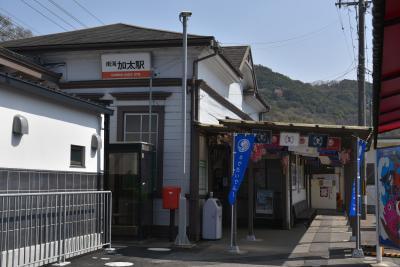 加太駅から独り歩き