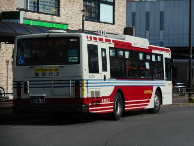 都内の長距離路線バスに乗車②・・・・・その壱 境16系統