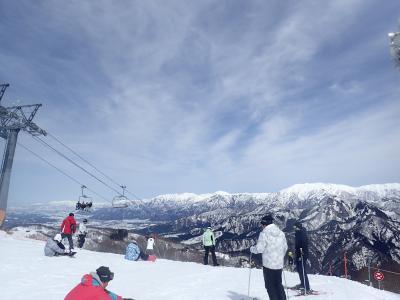 2歳子連れ・初めてのスキー場!春のガーラ湯沢☆2018.3