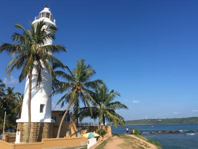 南アジア縦横断の旅(3)Sli Lanka《世界遺産ゴール要塞。ここは地元の人達の憩いの場。でも観光地としては。。。》