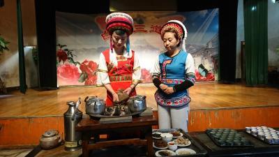 2018/3雲南省初訪八日間二人旅。⑦大理喜州から昆明へ。