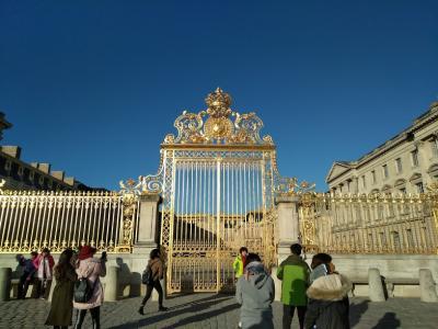 2017 初冬 パリ ベルサイユ宮殿