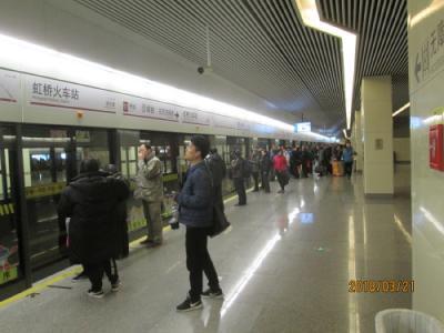 上海の地下鉄17号線開通、全線試乗