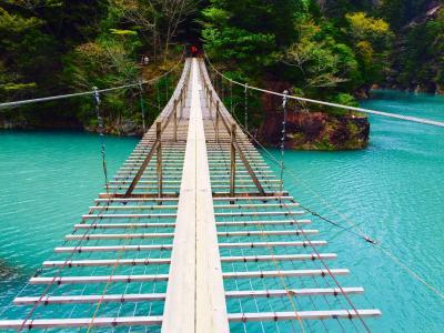 念願の夢の吊り橋