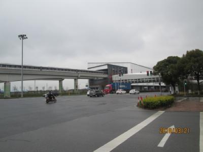 上海の地下鉄17号線・朱家角駅