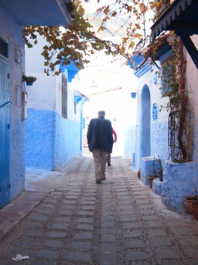 1987年&2017年 モロッコ時間旅行(8)2泊の滞在で約700枚撮りまくり!青の町シャウエン