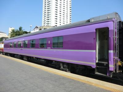 第47回海外放浪/東南アジア4ヵ国.乗りまくり&癒し旅・その7.バンコクで発見!JRで活躍した客車たち。