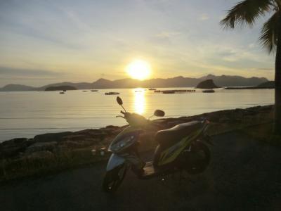 第47回海外放浪 東南アジア4ヵ国.乗りまくり&癒し旅・その12  ランカウイシクタン丸で島をプチツーリング。