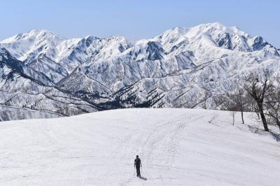 残雪期限定の日向倉山へ 日帰り登山