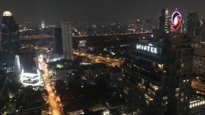 2018年JAL修行_4-3:PARK HYATT BANGKOKでカクテルタイムと夕食も楽しんで帰国するよ編