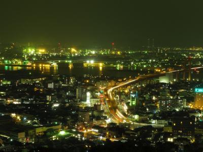 KLの続きで一人北九州レトロと工場夜景