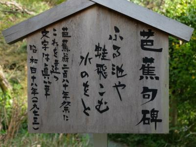 神田川の桜を眺めながら 寄り道散歩 中 芭蕉庵