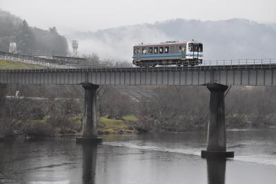冬の三江線を訪ねて ~天空の宇都井駅と橋梁を走る三江線、三次唐麺焼~
