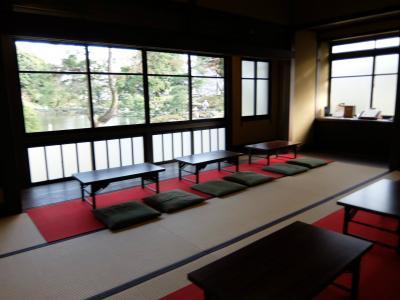 神田川の桜を眺めながら 寄り道散歩 下 肥後細川庭園 松声閣