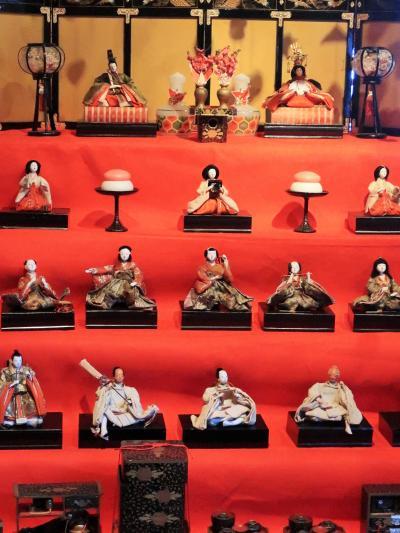 稲取-3 雛の館 〔むかい庵〕 観覧は300円 ☆伝統の風習を根づかせて