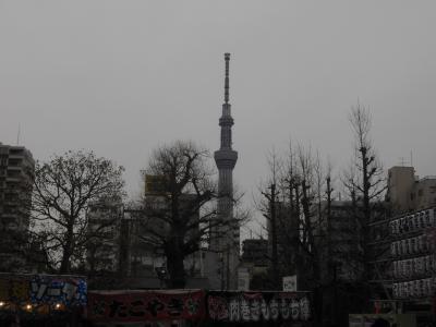 海外からのお客さんと東京に行きました。