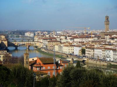 トスカーナとナポリ紀行(2018年2月)(1):フィレンツェ